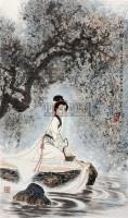 人物 镜片 纸本 - 139834 - 中国书画(下) - 2010瑞秋艺术品拍卖会 -收藏网
