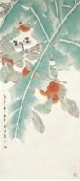 花鸟 纸本 立轴 - 喻继高 - 中国书画(一)精品专场 - 天目迎春 -中国收藏网