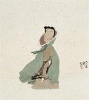 踏雪 镜心 设色纸本 - 徐乐乐 - 中国书画 - 2010年秋季拍卖会 -收藏网