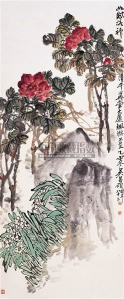 神仙富贵图 - 116056 - 西泠印社部分社员作品 - 2006春季大型艺术品拍卖会 -收藏网