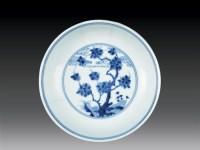 清·雍正 青花花卉盘 -  - 瓷玉珍玩 - 2006艺术精品拍卖会 -收藏网