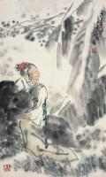 吴山明      恋春图 - 吴山明 - 中国书画  - 2010浦江中国书画节浙江中财书画拍卖会 -中国收藏网