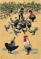 满地锦 - 沈柔坚 - 油画 - 2010年秋季拍卖会 -收藏网