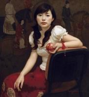 红苹果 布面油画 -  - 中国油画  - 2010年秋季艺术品拍卖会 -收藏网