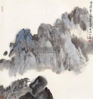云涌峰浮 立轴 设色纸本 - 2538 - 中国书画(一) - 2006春季拍卖会 -收藏网