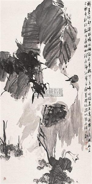 花鸟 镜心 水墨纸本 - 130558 - 中国书画 - 2006秋季书画艺术品拍卖会 -收藏网