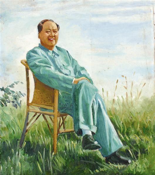 无款 毛泽东 -  - 中国书画  - 上海青莲阁第一百四十五届书画专场拍卖会 -收藏网