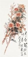 月白花红不叫春 镜心 设色纸本 - 119140 - 中国书画(二) - 2010年秋季艺术品拍卖会 -收藏网
