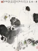 唐人诗意 镜片 设色纸本 - 王西京 - 中国书画 - 2010秋季艺术品拍卖会 -收藏网