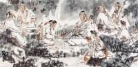 吳山明(1941~    )    竹林七賢圖 -  - 中国书画近现代名家作品 - 2006春季大型艺术品拍卖会 -收藏网