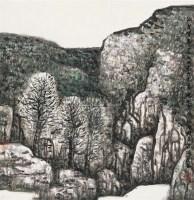 沟里有春 镜片 设色纸本 - 赵振川 - 中国书画 - 2010秋季艺术品拍卖会 -中国收藏网