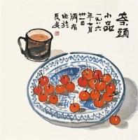 案头小品 镜框 设色纸本 - 方济众 - 中国书画 - 2010秋季艺术品拍卖会 -收藏网