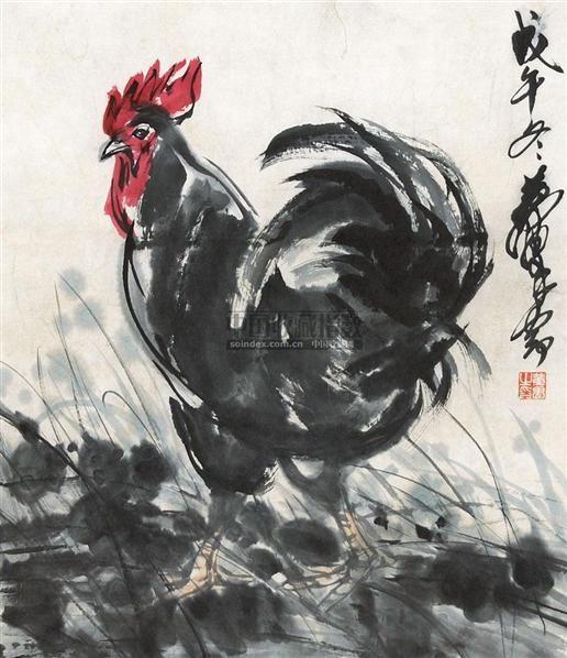 大吉图 镜心 纸本 - 7693 - 中国书画 - 2010年秋季书画专场拍卖会 -收藏网
