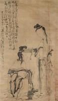 人物 立轴 绢本 - 12423 - 文物公司旧藏暨海外回流 - 2010秋季艺术品拍卖会 -收藏网
