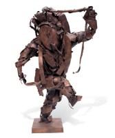 焦兴涛 2000年作 戏剧人物之一 - 150249 - 西画雕塑(上) - 2006夏季大型艺术品拍卖会 -收藏网