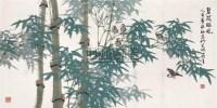 碧筱临风 镜心 设色纸本 - 周彦生 - 中国书画(二) - 2006春季拍卖会 -收藏网