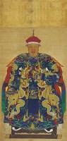 佚名[清]解聯甲像 -  - 中国书画古代作品专场(清代) - 2008年秋季艺术品拍卖会 -收藏网