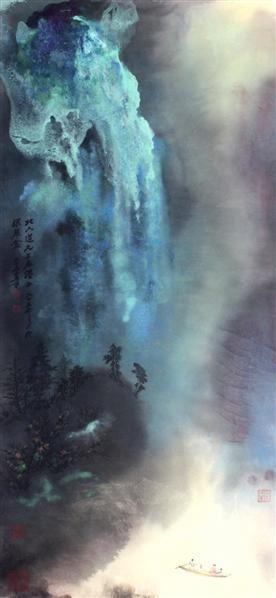 夜游赤壁 - 116070 - 2010上海宏大秋季中国书画拍卖会 - 2010上海宏大秋季中国书画拍卖会 -收藏网
