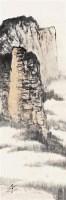 山中近影 镜片 设色纸本 - 赵望云 - 中国书画 - 2010秋季艺术品拍卖会 -收藏网