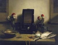 静物 布面油画 - 140641 - 中国油画  - 2010年秋季艺术品拍卖会 -收藏网