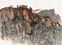 归牧图 镜心 设色纸本 - 徐庶之 - 中国书画(二) - 2010年秋季艺术品拍卖会 -收藏网