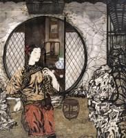 王赞  二泉映月 - 王赞 - 中国书画(上) - 2006夏季大型艺术品拍卖会 -中国收藏网