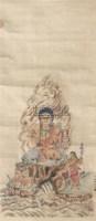人物 立轴 纸本 - 5232 - 文物公司旧藏暨海外回流 - 2010秋季艺术品拍卖会 -收藏网