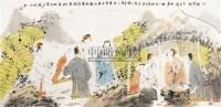 宋词意 镜心 纸本设色 - 唐勇力 - 中国当代书画 - 2010秋季艺术品拍卖会 -中国收藏网