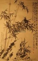 墨竹 镜心 水墨纸本 - 蒲华 - 中国书画 - 2010年秋季艺术品拍卖会 -收藏网