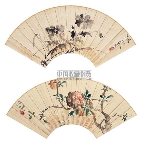 江寒汀(1903~1963)    花卉 - 13356 - 中国书画海上画派 - 2006春季大型艺术品拍卖会 -收藏网