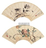 江寒汀(1903~1963)    花卉 - 江寒汀 - 中国书画海上画派 - 2006春季大型艺术品拍卖会 -收藏网