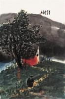 曾宓 山村人家 - 114993 - 中国书画(上) - 2006夏季大型艺术品拍卖会 -收藏网