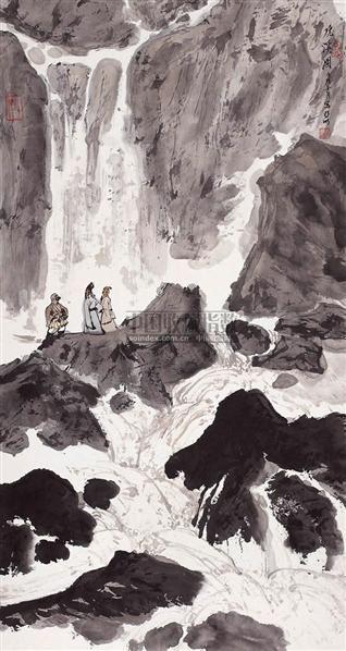 虎溪图 - 2538 - 西泠印社部分社员作品 - 2006春季大型艺术品拍卖会 -收藏网