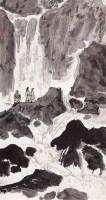 虎溪图 - 亚明 - 西泠印社部分社员作品 - 2006春季大型艺术品拍卖会 -收藏网