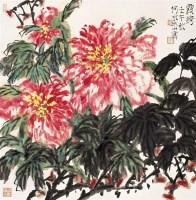 何水法(1946~  )  霞绮 -  - 近现代名家作品(二)专场 - 2005秋季大型艺术品拍卖会 -收藏网