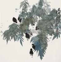 花鸟 立轴 设色纸本 - 王有政 - 中国书画 - 2010秋季艺术品拍卖会 -收藏网