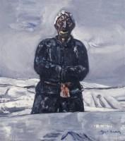 段正渠 1995年作 看雪 - 段正渠 - 西画雕塑(上) - 2006夏季大型艺术品拍卖会 -收藏网