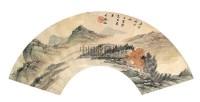 山水 扇面 设色纸本 - 吴观岱 - 中国书画 - 第9期中国艺术品拍卖会 -收藏网