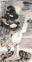东坡诗意图 立轴 纸本设色 - 王涛 - 中国当代书画 - 2010秋季艺术品拍卖会 -中国收藏网