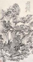 山水 立轴 纸本水墨 - 吴徵 - 中国近现代书画  - 2010秋季艺术品拍卖会 -收藏网