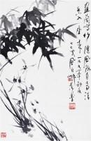 兰竹 纸本 镜框 - 蒋风白 - 中国书画(二)无底价专场 - 天目迎春 -收藏网