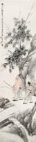 程  璋(1869~1938)  柳荫骏马图 -  - 中国书画海上画派作品 - 2005年首届大型拍卖会 -中国收藏网