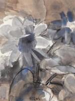 王劼音 花卉 布面油画 - 王劼音 - (西画)当代艺术专题 - 2006年秋季精品拍卖会 -收藏网