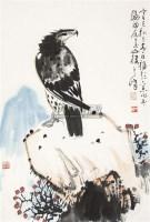 英雄独立 立轴 纸本 - 孙其峰 - 中国书画 - 2010年秋季书画专场拍卖会 -中国收藏网