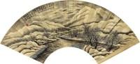 山水 扇面 纸本 - 陶冷月 - 扇面小品 - 2010秋季艺术品拍卖会 -中国收藏网