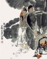 闽南小景 - 周思聪 - 2010上海宏大秋季中国书画拍卖会 - 2010上海宏大秋季中国书画拍卖会 -收藏网