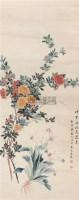 花卉 立轴 纸本 - 陆恢 - 文物公司旧藏暨海外回流 - 2010秋季艺术品拍卖会 -收藏网