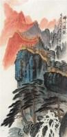 神州腾龙 镜心 设色纸本 - 132323 - 中国书画(一) - 2012迎春拍卖会 -收藏网