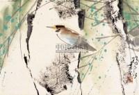 花鸟 镜心 - 杨正新 - 中国书画 - 第30届艺术品拍卖交易会 -收藏网