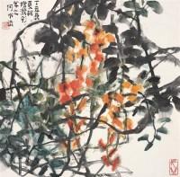 何水法   花卉 - 何水法 - 中国书画 - 2007春季中国书画名家精品拍卖会 -收藏网